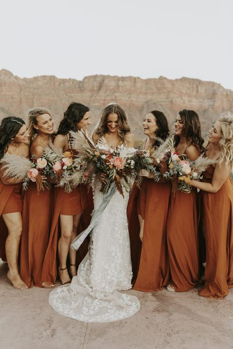 Rust and Sage Wedding Colour Palette Rust and Sage Wedding Colour Palette Sage Wedding, Boho Wedding, Dream Wedding, Wedding Ideas, Wedding Weekend, Summer Wedding, Rustic Wedding, Orange Bridesmaid Dresses, Wedding Bridesmaids