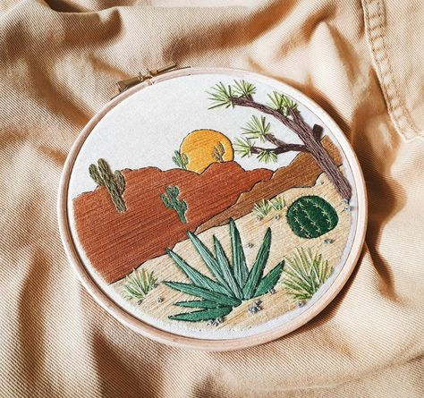 Joshua Tree Embroidery Pattern