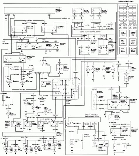 2000 Cavalier Fuse Panel Diagram Wiring Schematic