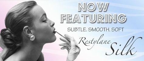 Aesthetic Enhancements is excited to announce that we now feature #Restylane Silk! If you want lips that look smoother and younger but don't want them to appear larger, Restylane Silk is the product for you!