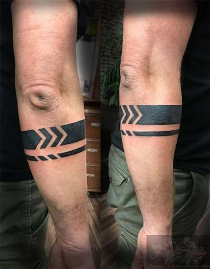 Tribal Tattoos Band : tribal, tattoos, Tattoo, Sleeve, Design, Ideas, Armband, Design,, Wrist, Tattoo,