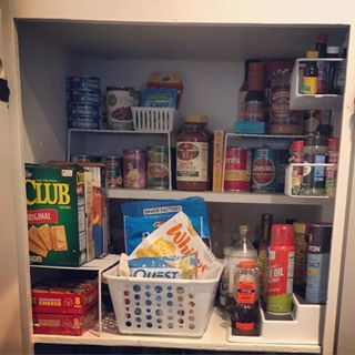 Pantry Organization Dollar Tree Products Organize Your Closet Cheap Finds Vertical Storage K Closet Planning Kitchen Hacks Organization Organization Hacks