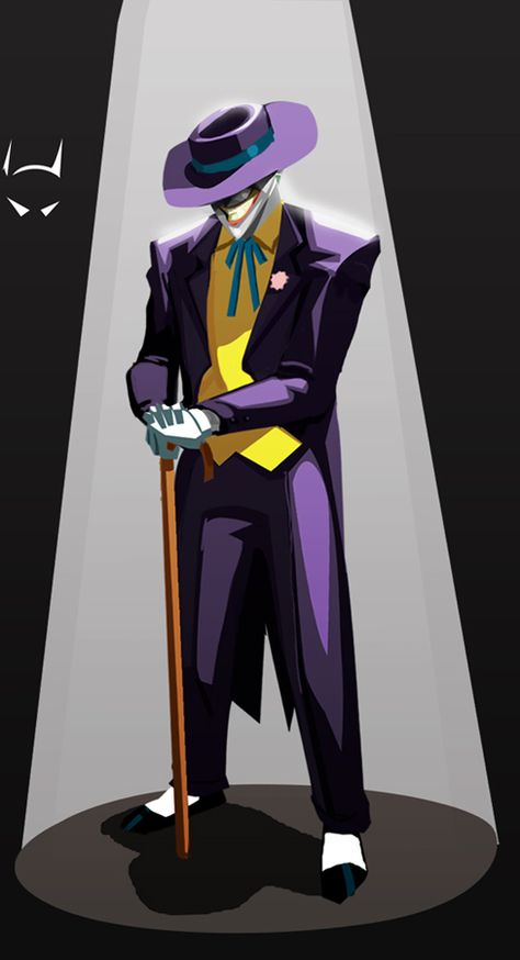Joker Devil Visage Patch Iron On Demon Batman Harley Quinn DC Comic Cartoon