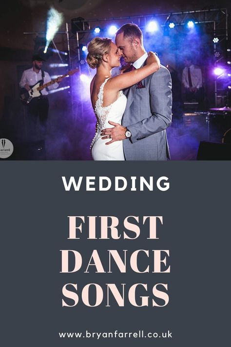 Looking for the perfect song for the first dance at your wedding? Here's a little inspiration to help you plan the perfect wedding first dance. Some popular wedding first dance songs, a little help picking a special song, Some of the classic romantic love songs to something a little different and original. We'll wrap up with a look at last years top 10 wedding first dance songs  #firstdancewedding #songsforwedding #romanticweddingsongs #weddingsongplaylist #lovesongswedding #weddingsongs