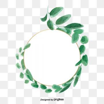 Green Leaf Round Frame Vector Diagram Tea Pattern Decorative Pattern Leaf Pattern Png Transparent Clipart Image And Psd File For Free Download Leaf Clipart Frame Border Design Leaf Pattern