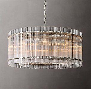 Chandeliers Rh Round Chandelier Chandelier Modern Ceiling Light