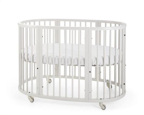 Matras Baby Bed.Stokke Sleepi Bed 120 Cm White Incl Matras Brands