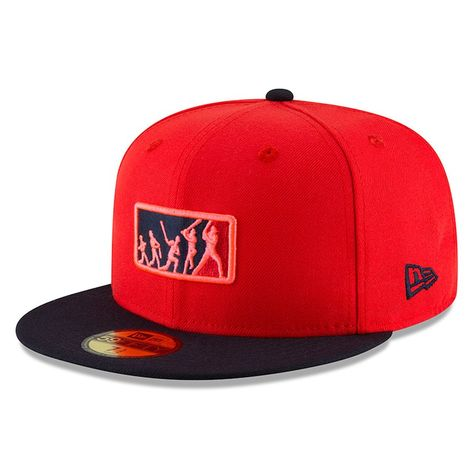 9733e79424c Men s Boston Red Sox New Era Red Navy 2018 Players  Weekend Team Umpire 59FIFTY  Fitted Hat