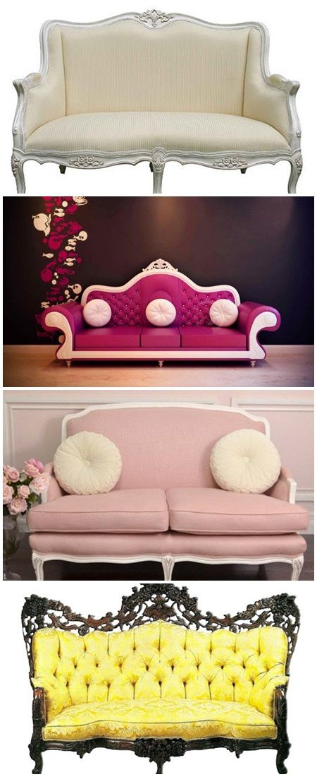 18 Pretty Vintage Sofa and Settee Designs Amongst all the eras that ...