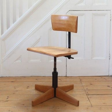 Vintage Industrial Office Chair By Stool Giroflex Model 7043 Industrial Office Chairs Vintage Industrial Chair