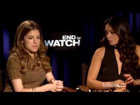 Anna Kendrick Natalie Martinez End Of Watch Interview With