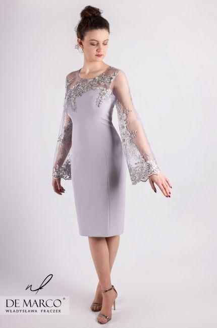 534a0b9852 De Marco sklep internetowy z ekskluzywną odzieżą damską. Eleganckie sukienki  na wesele dla mamy