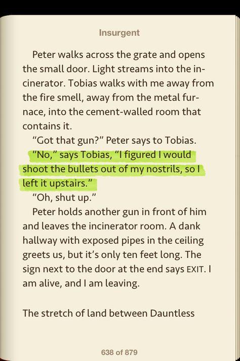 Sarcastic Tobias is the best Tobias.
