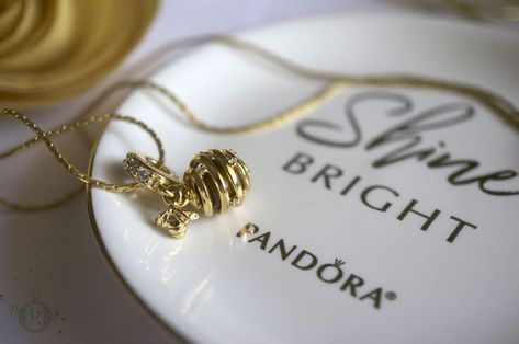 f0d19ee2b PANDORA Shine Sweet As Honey Pendant Charm 767044CZ spring queen bee summer  new collection free gift morapandora theartofpandora becharming becharming.com  ...