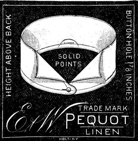 *The Graphics Fairy LLC*: Antique Clip Art - Men's Collar Ads