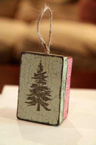 Letter Box Christmas Ornament
