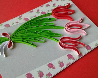 Quilling Card Greeting Card Quilled Art Quilled Patterns Quilling