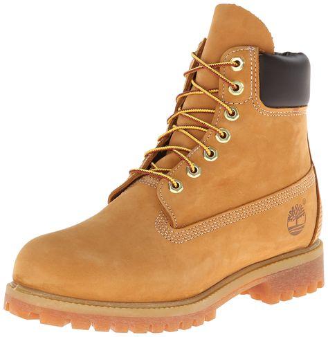 Timberland Premium Wheat Classic 6 inch Men's Nubuck Leather