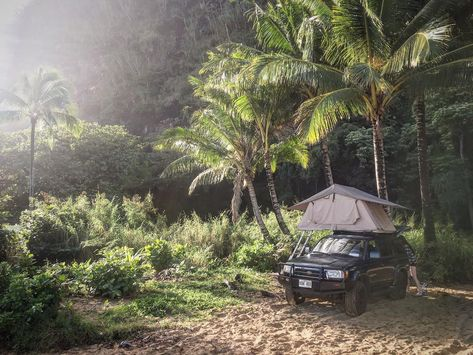 Hawaii-Overland-Kauai-roof top tent-c&ing-rental.jpg | Kauai 4WD C&ers | Pinterest | Vehicle and Roof top & Hawaii-Overland-Kauai-roof top tent-camping-rental.jpg | Kauai 4WD ...