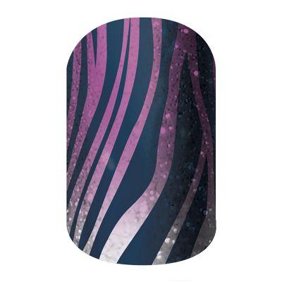 Zebra Diva  nail wraps by Jamberry Nails