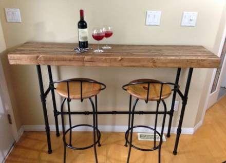 40 Ideas Breakfast Bar Kitchen Stand Alone Kitchen Bar Table Small Kitchen Tables Kitchen Table Small Space