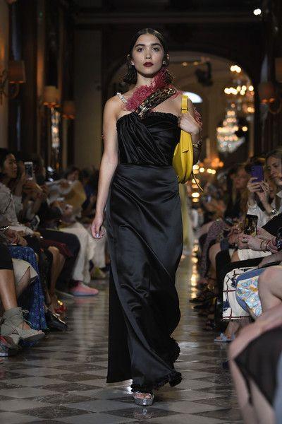Rowan Blanchard walks the runway during Miu Miu 2019 Cruise Collection Show at Hotel Regina.