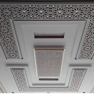 ديكورات جبس مغربي حديثة Ceiling Design House Ceiling Design Interior Ceiling Design