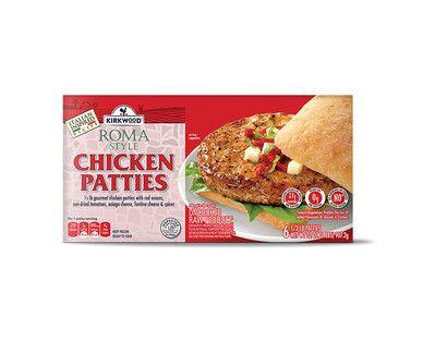 Aldi Us Kirkwood Roma Chicken Burgers Chicken Burgers Grocery