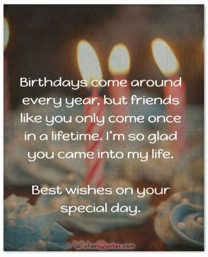 Excellent Birthday Wishes For A Friend Quotes Sayings Happy 26 Ideas For Birthday Cards Printable Opercafe Filternl
