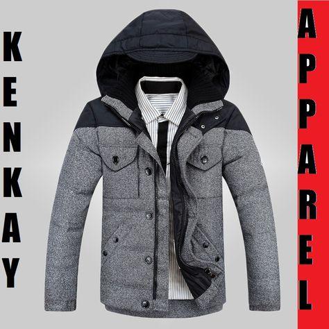 Men Casual Thick Plaid Jacket   Men's FallAutumnWinter