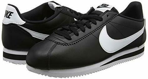 super cute 861d6 0ea51 Nike Women s Classic Cortez Leather Black White Training Sneakers New Sz 11   fashion