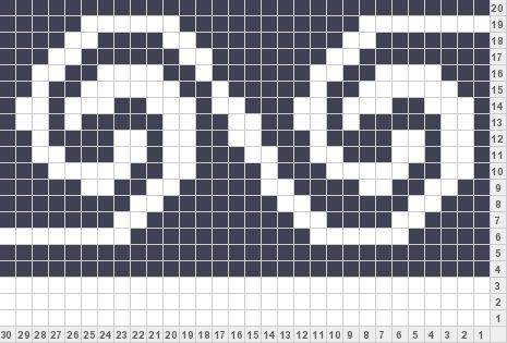 Celtic Swirl | Bead loom LOOM | Pinterest | Fair isles, Chart and ...