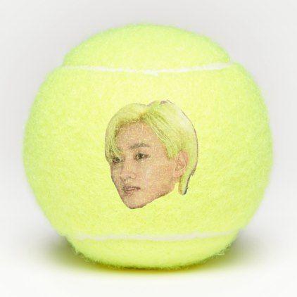 Super Junior Eunhyuk On Tennis Ball Eunhyuk Super Junior Tennis Ball