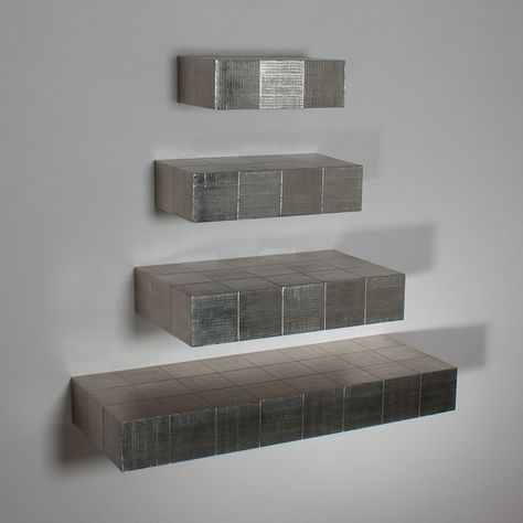 Silver Floating Shelves Shelves Wall Accessories Decor