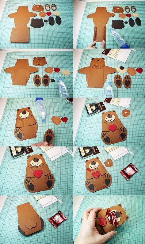 JMRush Designs: Bear Hug Candy Pocket