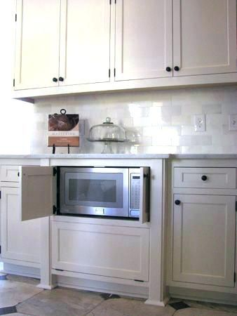 Image Result For Built In Microwave Kitchen Cabinets Microwave