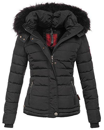 damen winter jacke stepp parka mantel