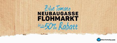 Blue Tomato @Neubaugasse Flohmarkt