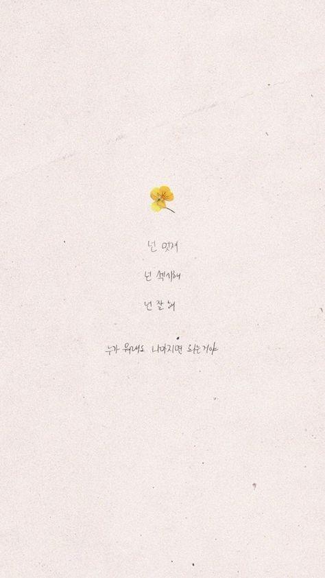 Cute Aesthetic Wallpaper Korean 50 Ideas Jenis Huruf Tulisan Gambar Kutipan Dinding