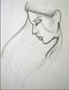 Sketch Drawing For Beginners Try To Draw This Face It S Pretty Easy Drawing Pinterest Easy Portrait Drawing Pencil Drawing Images Pencil Drawing Pictures