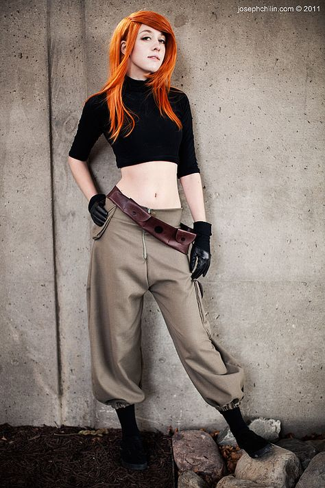 Kim Possible. From: Maryland, US. Event: New York Comic Con Photo: Joseph Chilin.