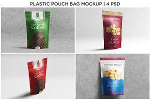 Download Download Plastic Pouch Bag Doypack Mockup Psd Mockup Free Psd Mockups Plastic Pouch Bag Mockup Presentation Design
