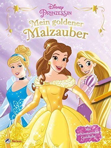 Disney Prinzessin Mein Goldener Malzauber Mit Schimmernder Goldfolie Mein Goldener Disney Prinzessin Haare Ma Nner In 2019 Disney Prinzessin Disney Und Prinzessin