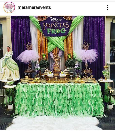 170 Princess And The Frog Theme Party Ideas Tiana Birthday