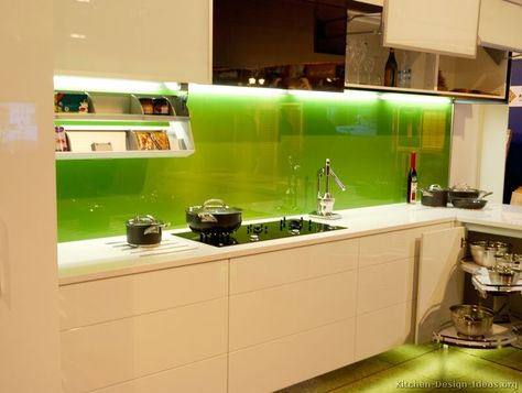 #Kitchen Idea of the Day: Kitchen Backsplash Ideas - Tile, Stone, Metal, Glass, and more.