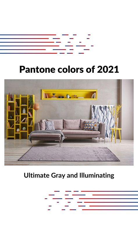 Pantone colors of 2021