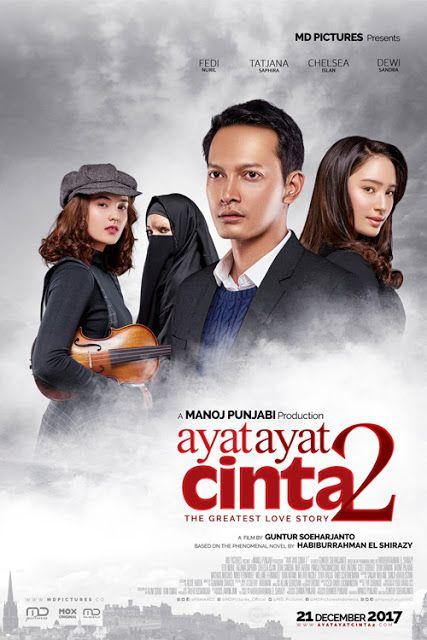 Sinopsis Ayat Ayat Cinta 2 2017 Film Indonesia Bioskop Film Film Romantis