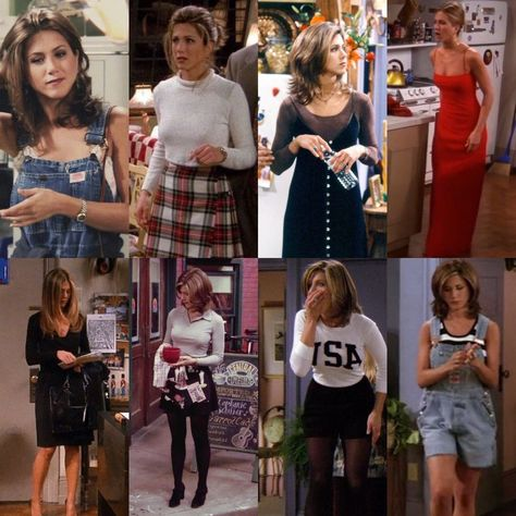 Pin by kayjah dotson on a look fashion, clueless fashion, 90 Outfits 90s, 90s Inspired Outfits, Tv Show Outfits, Outfits Casual, Style Outfits, Friend Outfits, Retro Outfits, Vintage Outfits, Cute Outfits