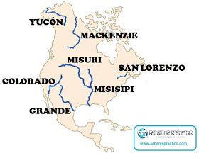 Rios Importantes De Los Continentes Del Mundo Hidrográfia De Los Continentes Memes Colorado Ecards