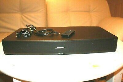 410376 Bose Solo TV Sound System Model